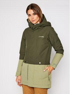 Berghaus Berghaus Outdoor kabát Norrah 4A000954FA7 Zöld Regular Fit