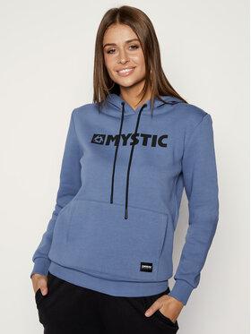 mystic mystic Džemperis Brand Hoodie Sweat 35104.190537 Mėlyna Regular Fit