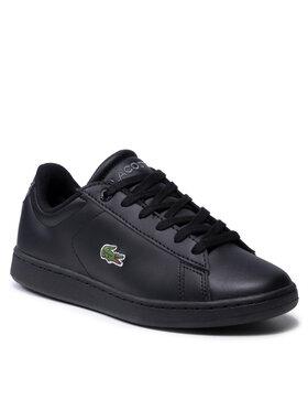 Lacoste Lacoste Sneakersy Carnaby Evo Bl 21 1 Suj 7-41SUJ000302H Czarny