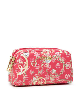 Guess Guess Geantă pentru cosmetice Milene Accessories PWMILE P1373 Roșu