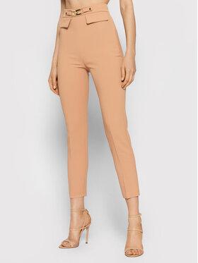 Elisabetta Franchi Elisabetta Franchi Pantalon en tissu PA-386-16E2-V260 Rose Slim Fit