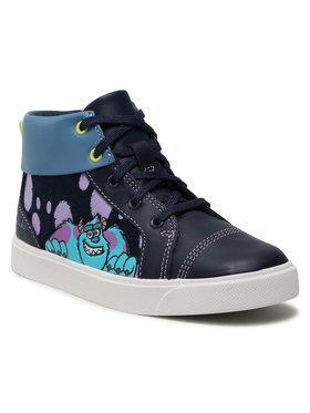 Clarks Clarks Sneakers City Scare K 261576677 Dunkelblau