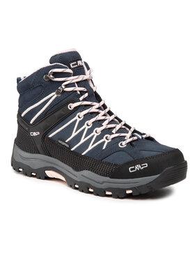 CMP CMP Chaussures de trekking Kids Rigel Mid Treking Shoe Wp 3Q12944J Bleu marine
