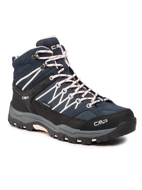 CMP CMP Trekingová obuv Kids Rigel Mid Treking Shoe Wp 3Q12944J Tmavomodrá