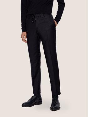 Boss Boss Spodnie materiałowe Bardon1 50440817 Granatowy Slim Fit