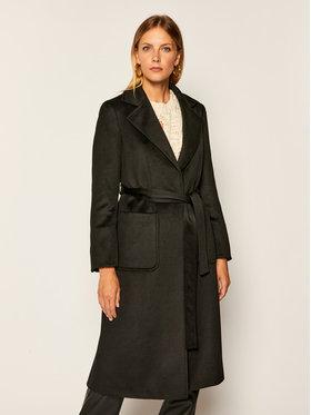 MAX&Co. MAX&Co. Kabát pro přechodné období Runway 40149720 Černá Regular Fit