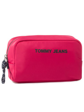 Tommy Jeans Tommy Jeans Pochette per cosmetici Tjw Nautical Mix Washbag AW0AW08415 Rosa