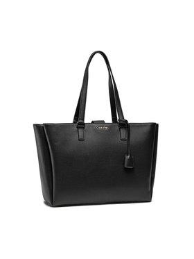 Calvin Klein Calvin Klein Дамска чанта Shopper Md W/Laptop Comp K60K608242 Черен