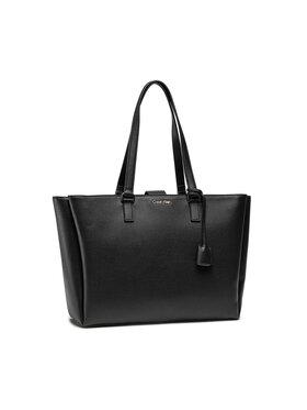 Calvin Klein Calvin Klein Kabelka Shopper Md W/Laptop Comp K60K608242 Čierna