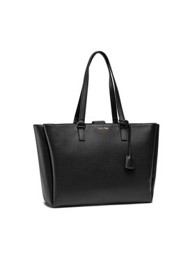 Calvin Klein Calvin Klein Rankinė Shopper Md W/Laptop Comp K60K608242 Juoda