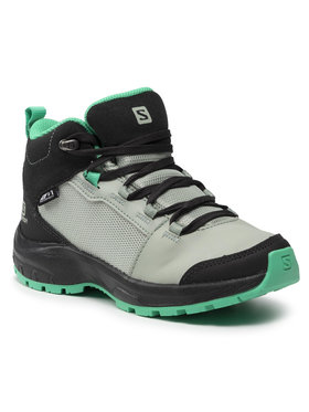 Salomon Salomon Trekingová obuv Outward Cswp J 412848 09 W0 Zelená