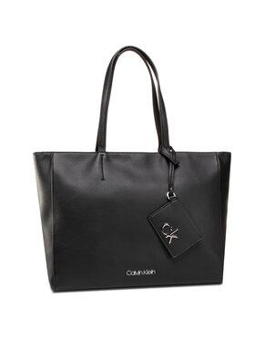 Calvin Klein Calvin Klein Geantă Shopper Md K60K606664 Negru