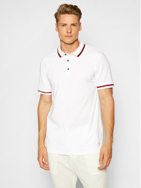Only & Sons Only & Sons Polo Cilas 22013661 Biały Regular Fit