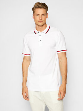 Only & Sons Only & Sons Polo Cilas 22013661 Blanc Regular Fit