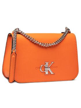 Calvin Klein Jeans Calvin Klein Jeans Torebka Convertible Full Flap K60K607482 Pomarańczowy