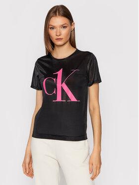 Calvin Klein Underwear Calvin Klein Underwear Marškinėliai 000QS6665E Juoda Regular Fit