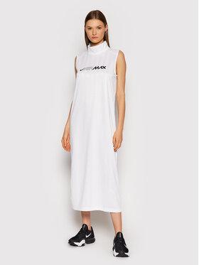 Nike Nike Každodenné šaty Sportswear CZ8282 Biela Standard Fit