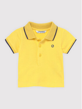 Mayoral Mayoral Tricou polo 190 Galben Regular Fit