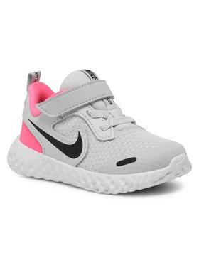 NIKE NIKE Обувки Revolution 5 (Tdv) BQ5673 010 Сив