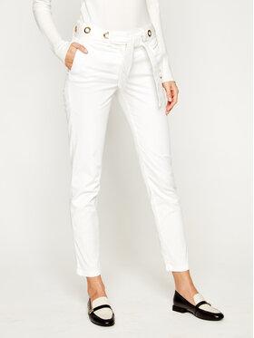 Trussardi Jeans Trussardi Jeans Pantaloni chino Lux Gabardine 56P00001 Bianco Regular Fit