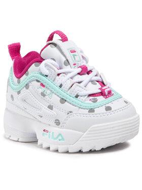 Fila Fila Sneakersy Disruptor F 1011077.80Q Bílá