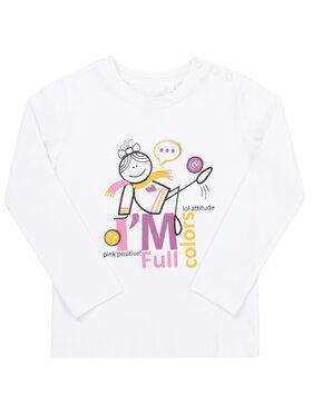 Primigi Primigi Μπλουζάκι 44211516 Λευκό Regular Fit