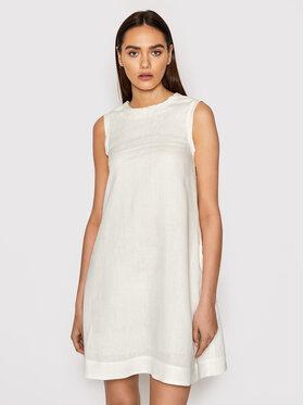 Marella Marella Sukienka letnia Debito 32212912 Biały Regular Fit