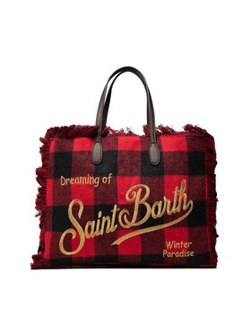 MC2 Saint Barth MC2 Saint Barth Torebka Vanity W VANI004 BGVY40 Czerwony