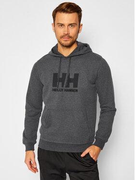 Helly Hansen Helly Hansen Mikina Hh Logo 33977 Šedá Regular Fit