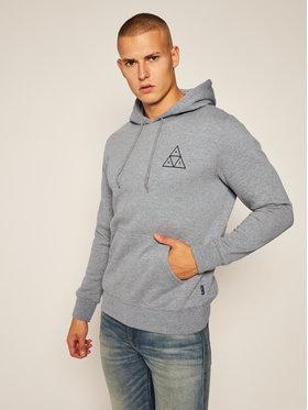 HUF HUF Sweatshirt Essentials PF00100 Gris Regular Fit