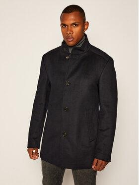 Joop! Joop! Vlnený kabát 17 JO-103Maronello 30023092 Tmavomodrá Regular Fit