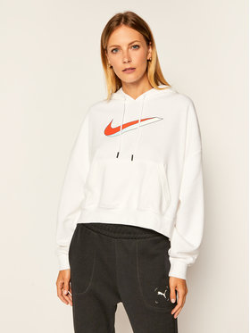Nike Nike Felpa Sportswear CU5108 Bianco Oversize