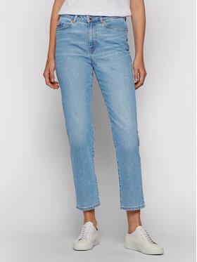 Boss Boss Jeans Straight Crop Vd 50452525 Blu Regular Fit