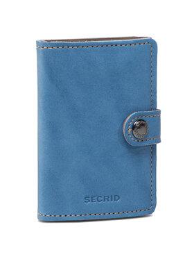 Secrid Secrid Portafoglio piccolo da donna Miniwallet MIN Blu