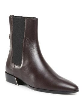 Furla Furla Kotníková obuv s elastickým prvkem Grace YD37FGC-S40000-GAF00-1-007-20-IT-3500 S Hnědá