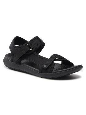 4F 4F Sandále HAL21-SAD001 Čierna