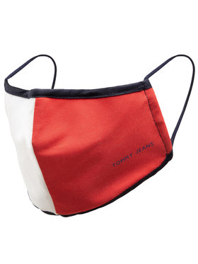 Tommy Jeans Tommy Jeans Maseczka materiałowa Tjm Flag Face Cover AM0AM07485 Granatowy
