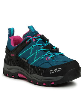 CMP CMP Trekkingi Kids Rigel Low Trekking Shoes Wp 3Q13244 Niebieski