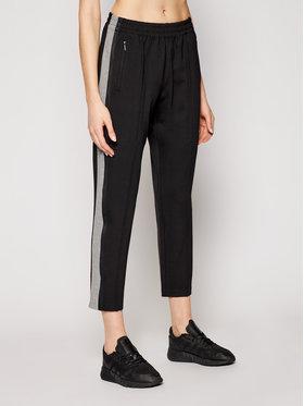 Calvin Klein Calvin Klein Medžiaginės kelnės Milano K20K202514 Juoda Regular Fit