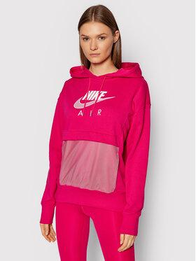 Nike Nike Bluză Sportswear Air CZ8620 Roz Oversize