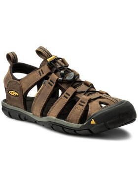 Keen Keen Sandale Clearwater Cnx Leather 1013106 Smeđa