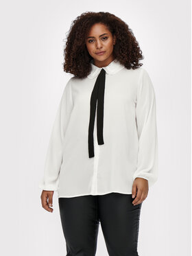 ONLY Carmakoma ONLY Carmakoma Camicia Cargerry 15244509 Bianco Regular Fit