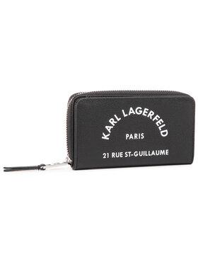 KARL LAGERFELD KARL LAGERFELD Duży Portfel Damski 205W3236 Czarny