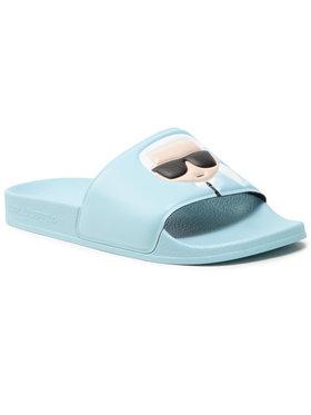 KARL LAGERFELD KARL LAGERFELD Mules / sandales de bain KL80905 Bleu