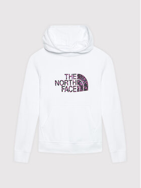 The North Face The North Face Mikina NF0A558T2AT1 Biela Regular Fit