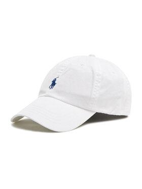 Polo Ralph Lauren Polo Ralph Lauren Шапка с козирка Hat 710548524001 Бял