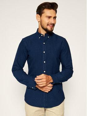 Polo Ralph Lauren Polo Ralph Lauren Marškiniai Classics 710804254001 Tamsiai mėlyna Slim Fit