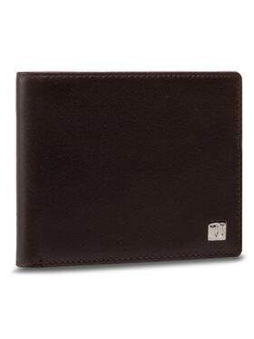 Trussardi Trussardi Duży Portfel Męski Wallet Credit Card 71W00005 Brązowy