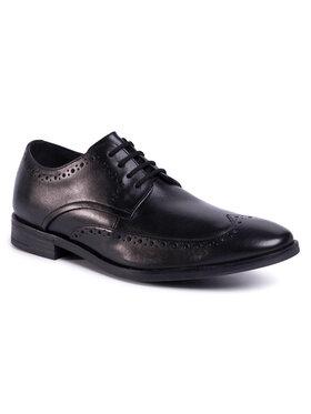 Clarks Clarks Pantofi Stanford Limit 261480297 Negru