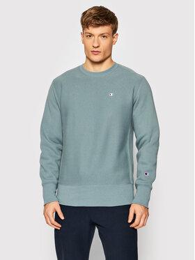 Champion Champion Bluză Reverse Weave C Logo 216495 Verde Regular Fit